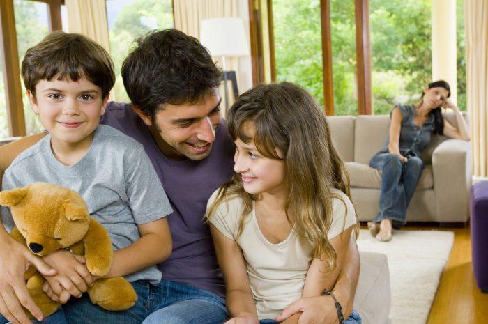 определение детей после развода