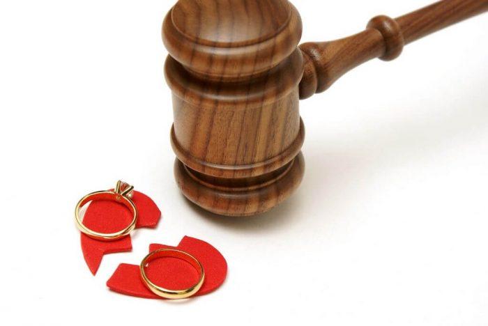 прекращение брака через суд