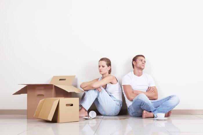 раздельная собственность сожителей