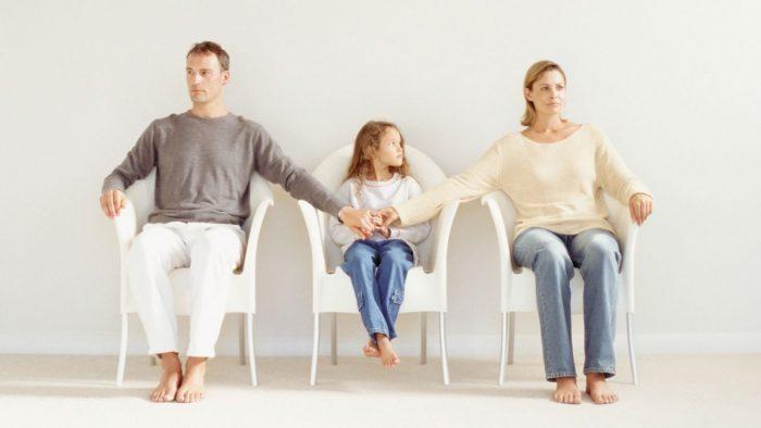 объяснить детям причину расставания