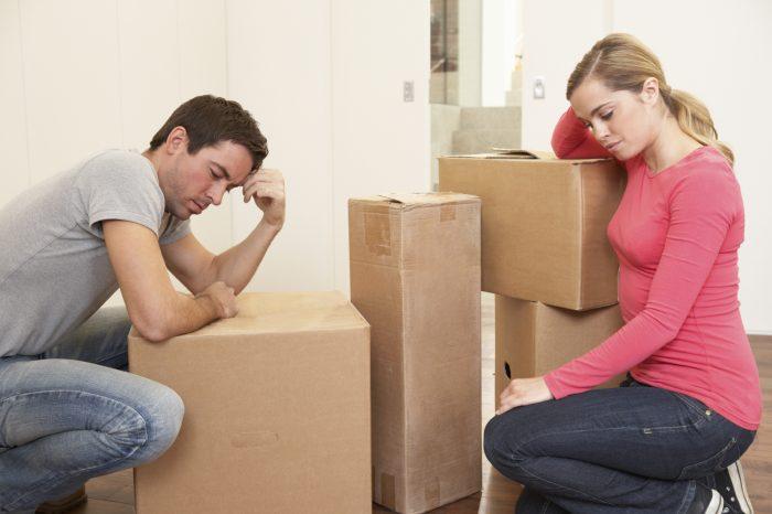 что не делится при разводе