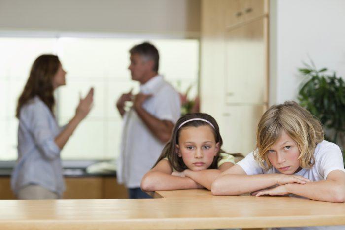 права на детей при разводе