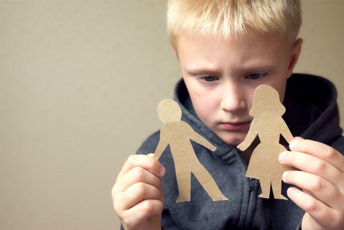 решение споров о детях при разводе
