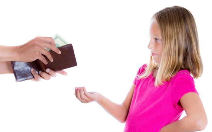 выплата алиментов несовершеннолетним детям