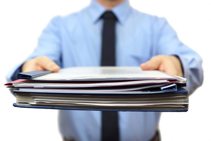 собрать полный комплект документов